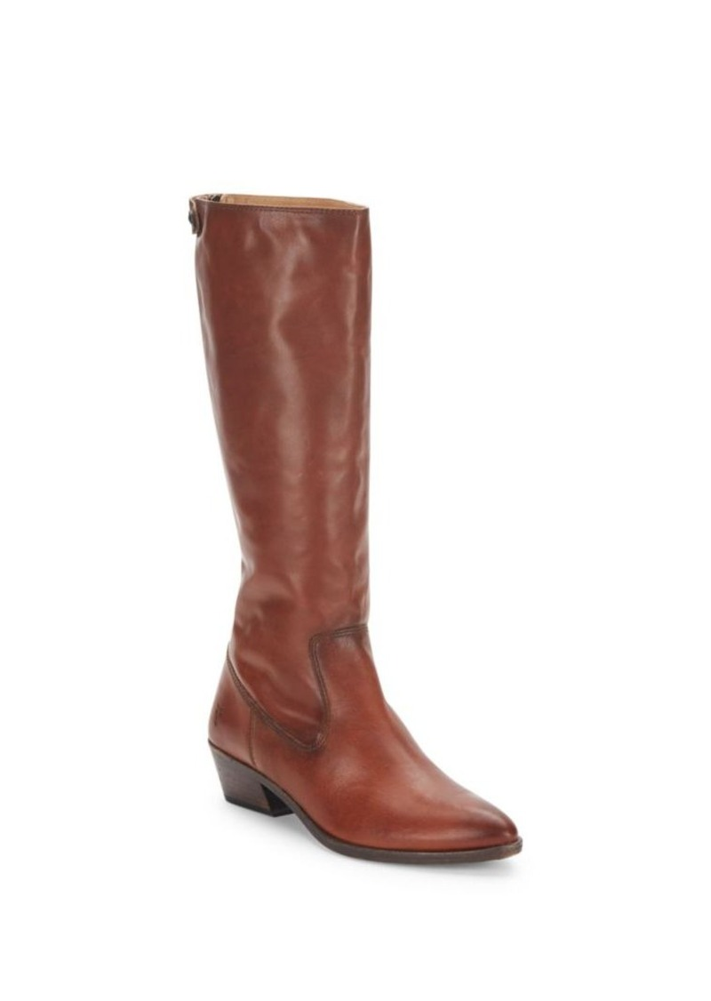 Frye Ruby Leather Point Toe Boots