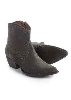 Frye Sacha Short Ankle Boots - Italian Suede (For Women)