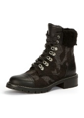 Frye Samantha Camouflage Mixed Hiker Boot