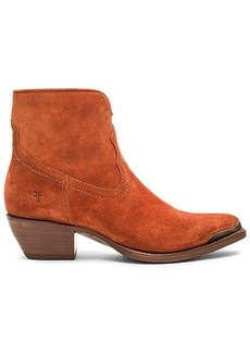 Frye Shane Tip Bootie in Rust. - size 10 (also in 6,6.5,7,7.5,8,8.5,9,9.5)