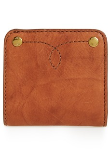 Frye Small Campus Rivet Leather Wallet