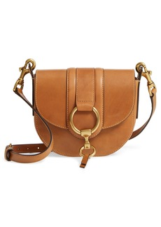 Frye Small Ilana Harness Leather Saddle Bag