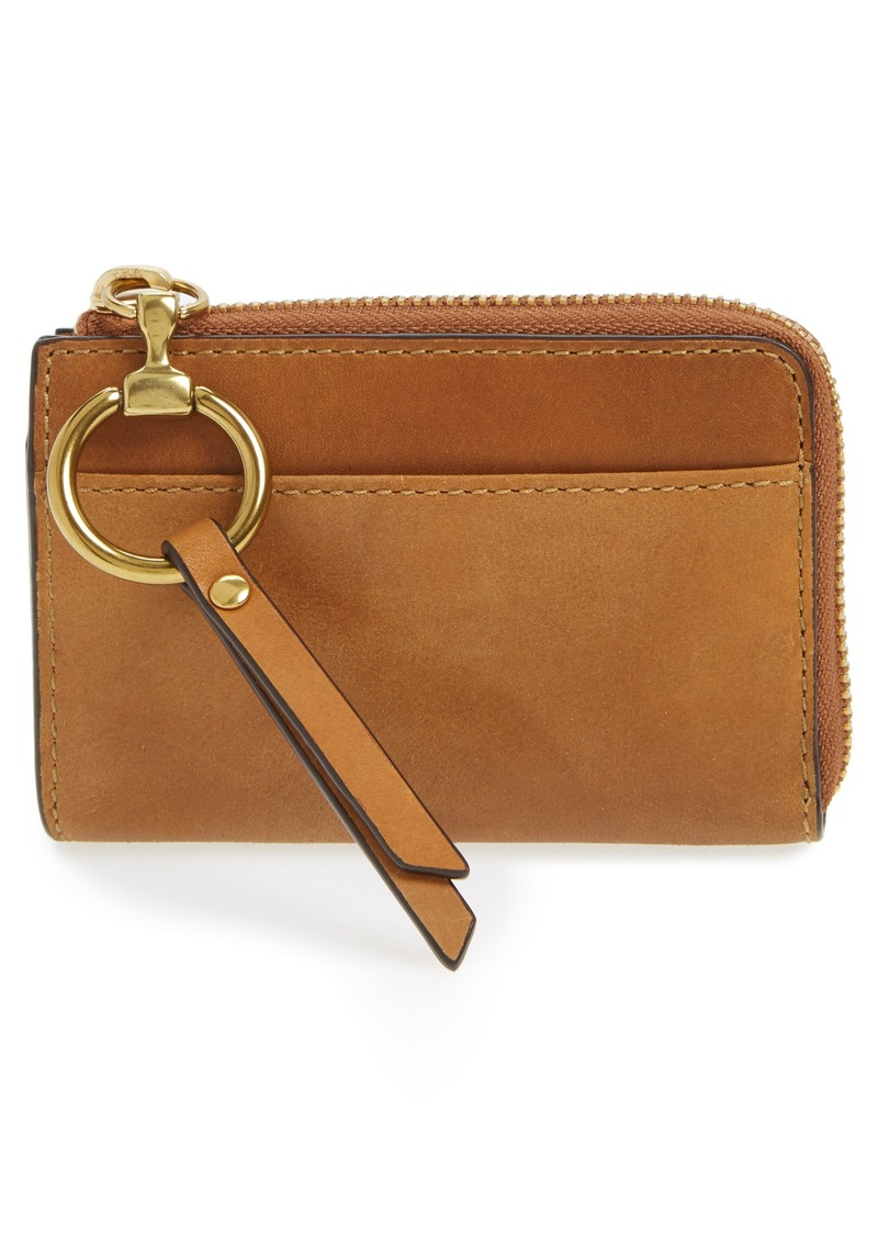 On Sale today! Frye Frye Small Ilana Harness Leather Zip Wallet