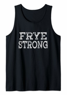 FRYE Strong Squad Family Reunion Last Name Team Custom Tank Top