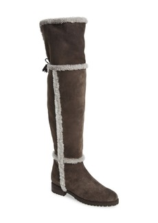 Frye 'Tamara' Genuine Shearling Over the Knee Boot (Women)