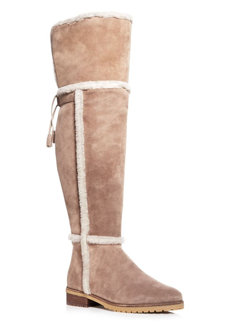 02af5c9edf2 Frye Frye Tamara Shearling Over the Knee Boots