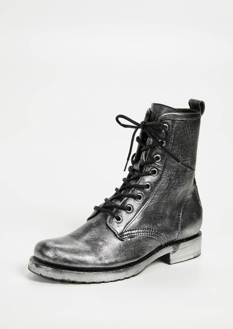 684736e7f Frye Frye Veronica Combat Boots | Shoes
