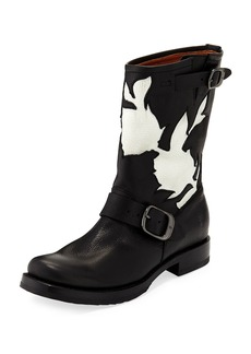 Frye Veronica Floral Cutout Boot