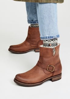 Frye Veronica Shearling Booties