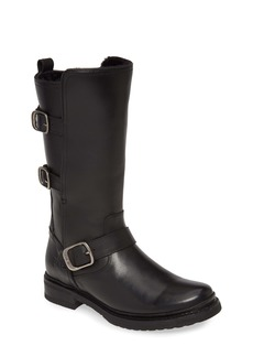 Frye Veronica Weatherproof Genuine Shearling Boot (Women) (Wide Calf)