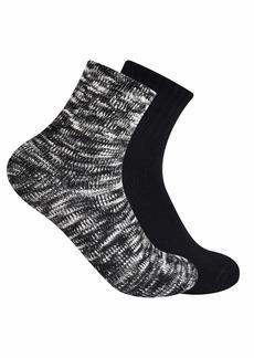Frye Women's 2-Pack Chunky Marled Shortie Ankle Socks
