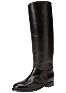 FRYE Women's Abigail Riding Polished Boot Black