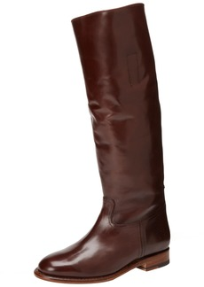 FRYE Women's Abigail Riding Polished Boot Dark Brown