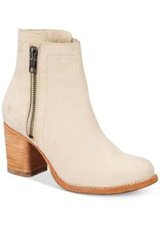 Frye Women's Addie Double-Zip Block-Heel Booties Women's Shoes