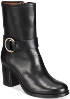 Frye Women's Addie Harness Mid-Shaft Boots Women's Shoes