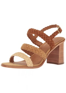 FRYE Women's Amy Braid Sandal Dress   M US