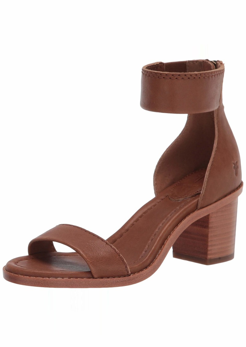 Frye Women's Brielle Back Zip Heeled Sandal