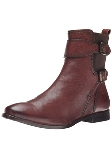 FRYE Women's Anna Gore Short-BLFLE Boot  Chocolate