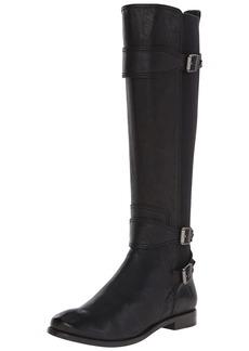 FRYE Women's Anna Gore Tall-BLFLE Riding Boot  Black