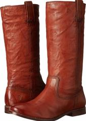 FRYE Women's Anna Mid Pull On-ASV Slouch Boot  Cognac