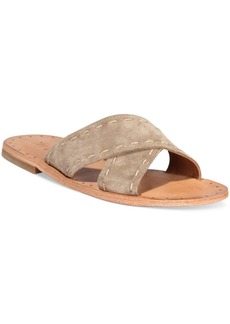 Frye Women's Avery Pickstitch Slide Sandals Women's Shoes