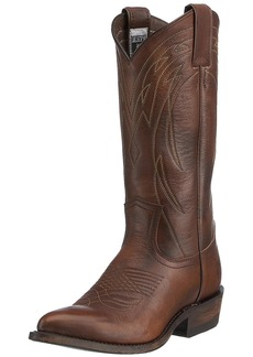 FRYE Women's Billy Pull-On Boot Dark Brown Vintage Calf Shine