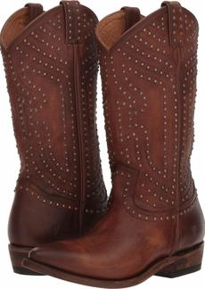 FRYE Women's Billy Stud Pull On Western Boot   M US