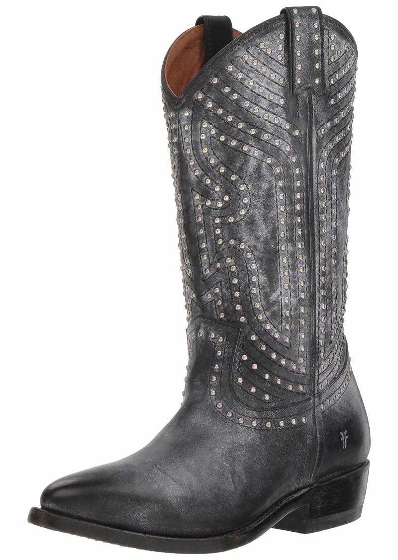 Frye Women's Billy Stud Pull On Western Boot   M US