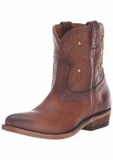 FRYE Women's Billy Stud Short Western Boot   M US