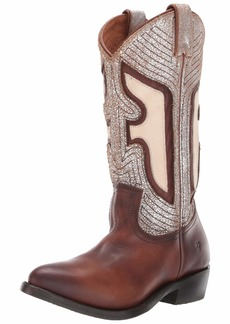 FRYE Women's Billy Underlay Pull On Western Boot   M US