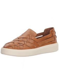 FRYE Women's BREA Huarache Slip ON Sneaker tan  M US