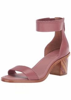 FRYE Women's Brielle BIAS Zip Flat Sandal   M US