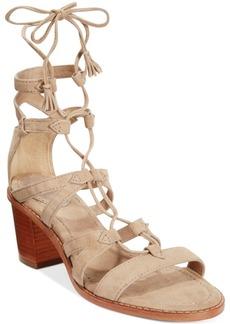 Frye Women's Brielle Gladiator Lace-Up Sandals Women's Shoes