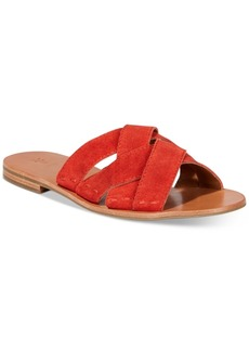 Frye Women's Carla Crisscross Slide Sandals, Only at Macy's Women's Shoes