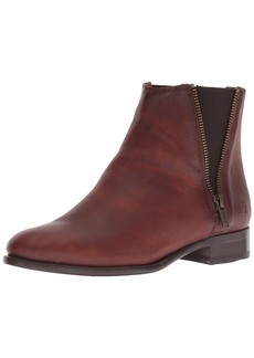 FRYE Women's Carly Zip Chelsea Boot   M US