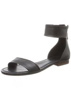 FRYE Women's Carson Ankle Zip Gladiator Sandal Black