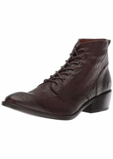 FRYE Women's Carson Lace Up Combat Boot   M US