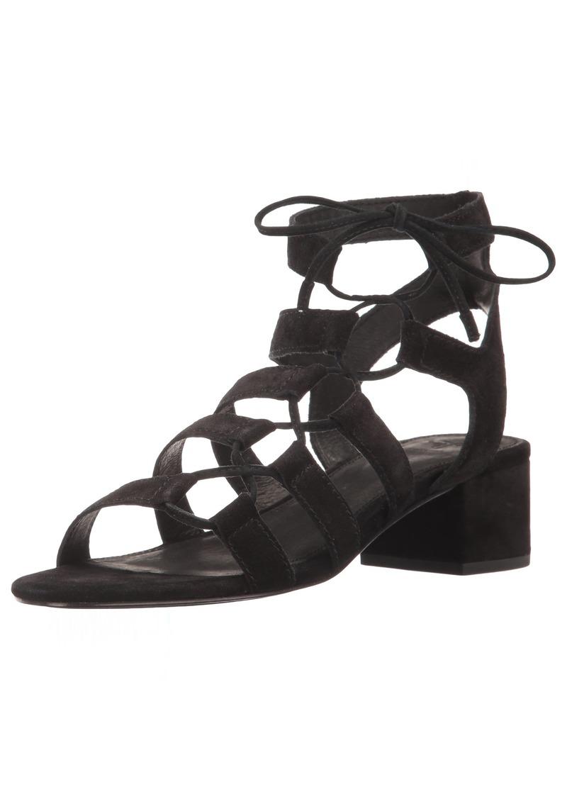 FRYE Women's Chrissy Side Ghillie Dress Sandal   M US