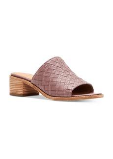 Frye Women's Cindy Woven Leather Block Heel Sandals