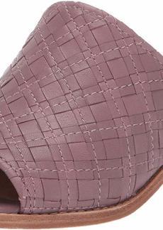 FRYE Women's Cindy Woven Mule Flat Sandal lilac  M US