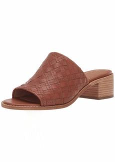 FRYE Women's Cindy Woven Mule Flat Sandal   M US