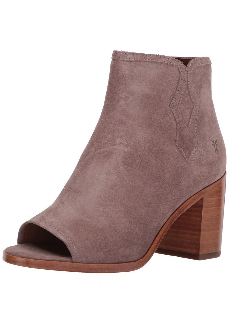 FRYE Women's Danica Peep Bootie Boot   M US