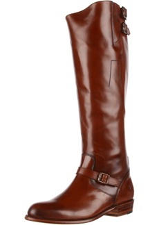 FRYE Women's Dorado Buckle Riding Boot Whiskey Smooth Polished  M US