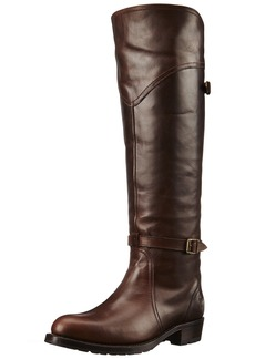 FRYE Women's Dorado Lug Riding Boot  Dark Brown