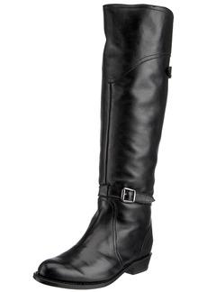 FRYE Women's Dorado Riding Boot Black Full Grain  US
