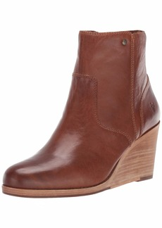 FRYE Women's Emma Wedge Short Ankle Boot   M US