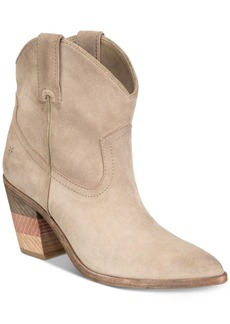 Frye Women's Faye Chevron Short Booties Women's Shoes