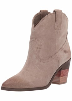FRYE Women's Faye Pull ON Short Ankle Boot ash  M US