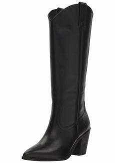 FRYE Women's Faye Pull ON Western Boot black  M US