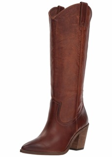FRYE Women's Faye Pull ON Western Boot cognac  M US